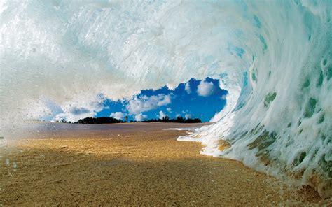 water beach waves wallpapers hd desktop  mobile