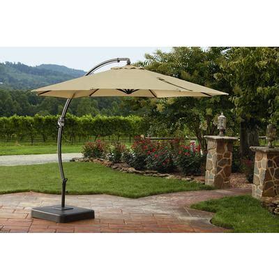 Overhang Patio Umbrella Garden Oasis 11 5ft Steel Offset Umbrella W Base Limited Availability Shop Your Way