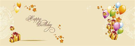 Birthday Greeting Card Background Design