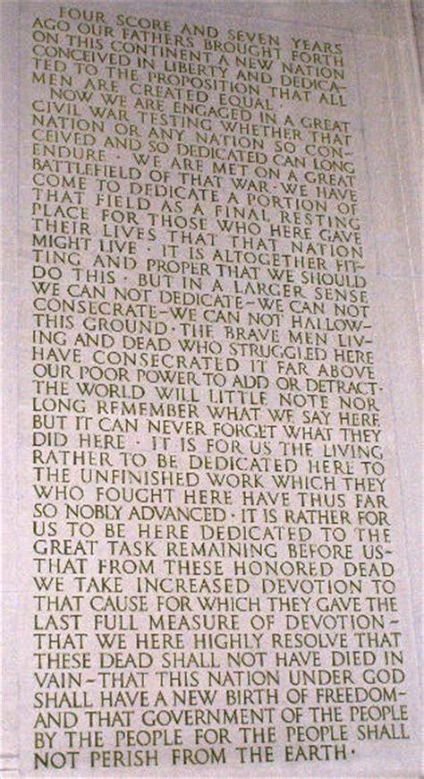 lincoln memorial words washington dc 06