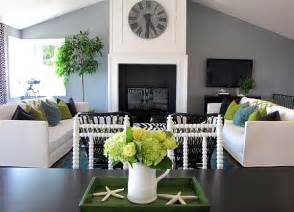 green grey and white living room decoration decoist