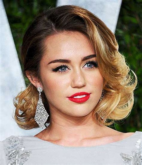 celebrity hairstyles curls 40 best short celebrity hairstyles short hairstyles