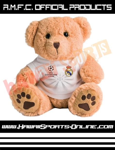 Boneka Authentic Original toko olahraga hawaii sports official merchandise boneka real madrid chions league teddy