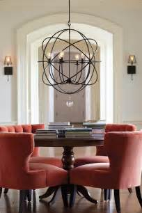 Dining Room Chandelier Lighting Best 10 Orb Chandelier Ideas On Kitchen