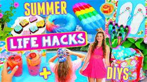 10 diy summer projects life hacks that everyone must