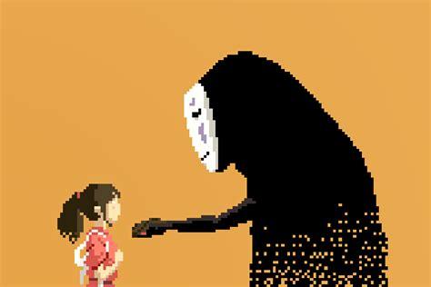 Anime 8 Bit by 1080p Studio Ghibli Anime 8bit Pixel 2 3