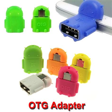 Usb Otg Android best robot android phone micro mini usb to usb otg adapter