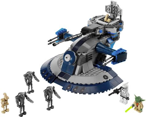 Lego 75080 Aat Wars Episode I Battle Droid Pilot Naboo 8018 armored assault tank aat lego wars beyond