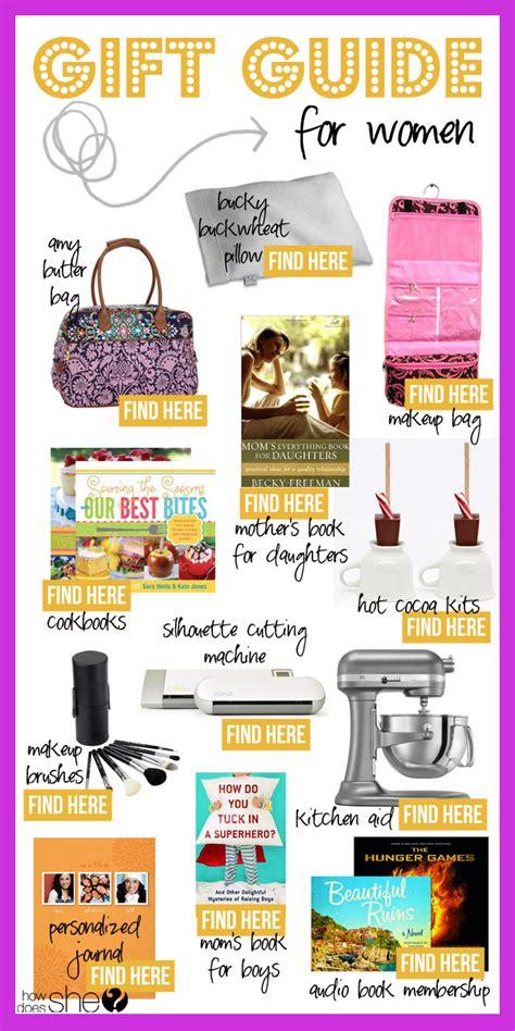 gift guide for women christmas gift guide for women
