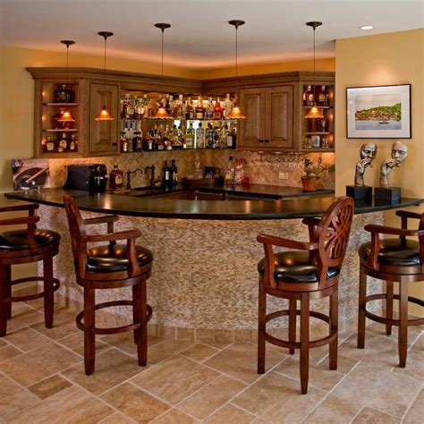 Basement Bar Design Plans Bloombety Basement Bar Designs With Wooden Chair Basement Bar Designs