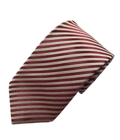 maroon yes sir sir michele maroon strip tie buy online at low price in