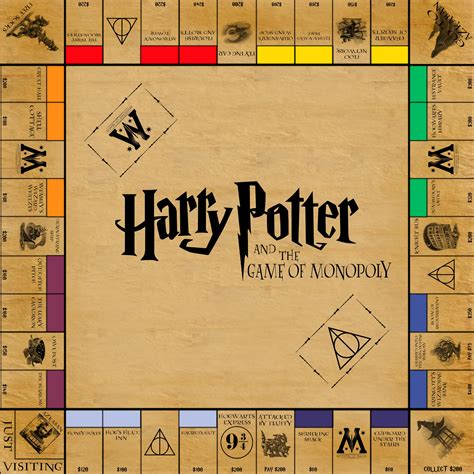Harry Potter Printable Board Games | harry potter monopoly by funkblast harry potter monopoly