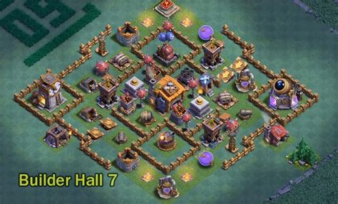 coc special layout top 12 strongest builder hall 7 base layouts 5500 trophies