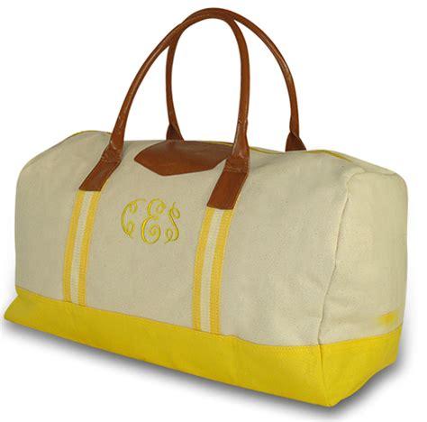 Travel Bag Kanvas Kiwi embroidered day traveler tote canvas