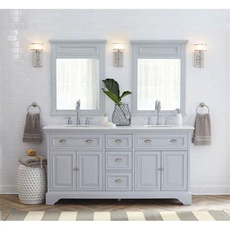 home decorators collectors home decorators collection sadie 67 in w vanity in dove