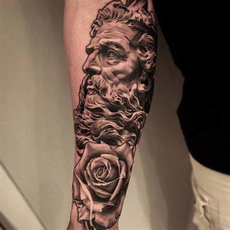 christian tattoo artist st louis 1000 ideas about statue tattoo on pinterest greek god