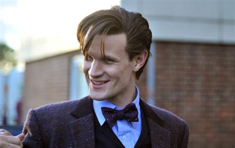 11th doctor female hair style 10 things about doctor who star matt smith doctor
