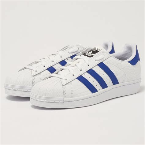 Adidas Prewalker White Blue adidas originals superstar white and blue