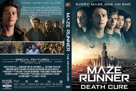 download film maze runner blue ray maze runner the death cure dvd cover cover addict free