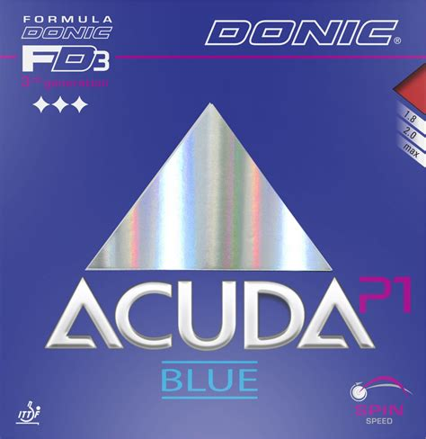 Donic Acuda Blue P1 Turbo tabletennis11 testing opportunity closed alex