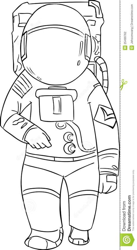 astronaut template astronaut vector stock photography image 25499762