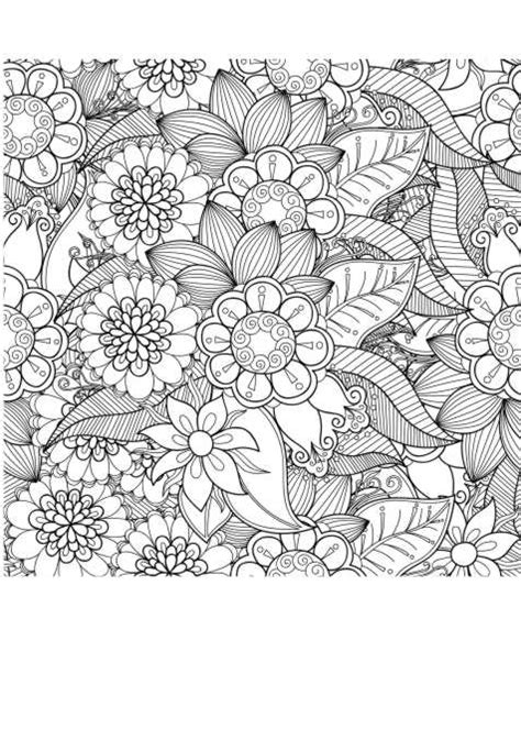 anti stress malen pinterest coloring mandalas and ausmalbild blumen anti stress malen malen pinterest