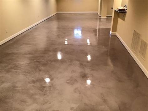 concrete floor coverings basement metallic epoxy rapid cast seminar demo rcs contractor supplies