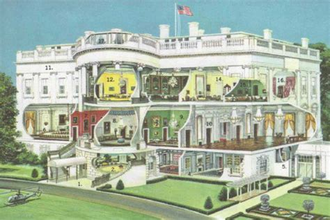 How Many Rooms Are In The White House by The White House