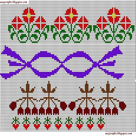 cross stitch easy crafts explore your creativity cross stitch borders