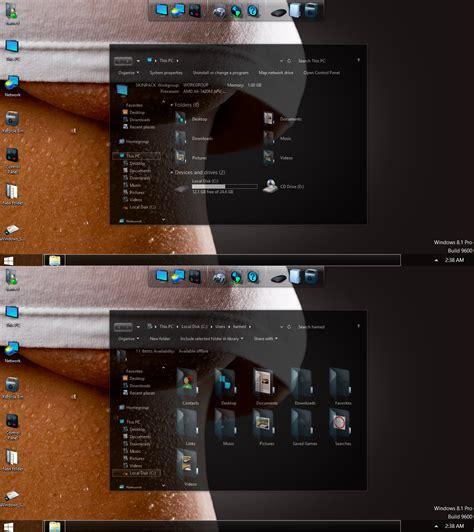 themes dep cho e63 dark glass skinpack trong suốt tuyệt đẹp for windows 7 8