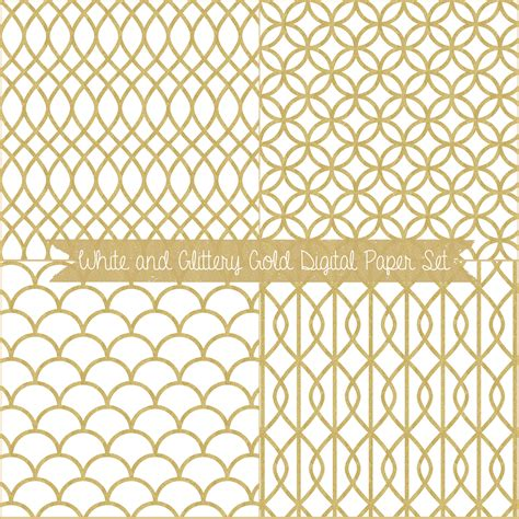 gold pattern desing just peachy designs free digital paper white and gold