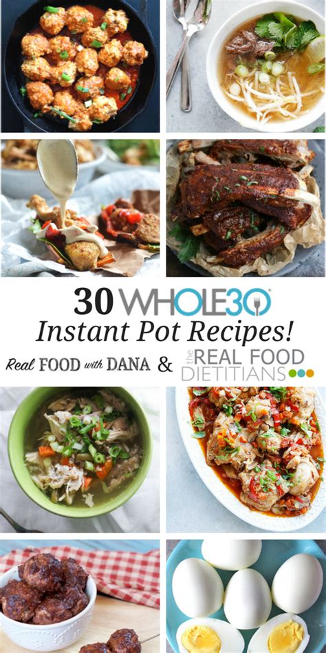 instant pot cookbook top 30 easy tasty soup recipes books 30 whole30 instant pot recipes real food with