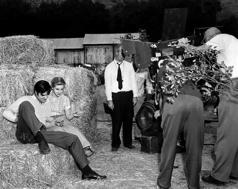 Shooting Elvis elvis and dolores hart filming quot loving you quot 1957