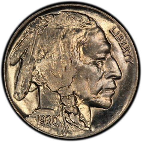 1930 buffalo nickel values and prices past sales
