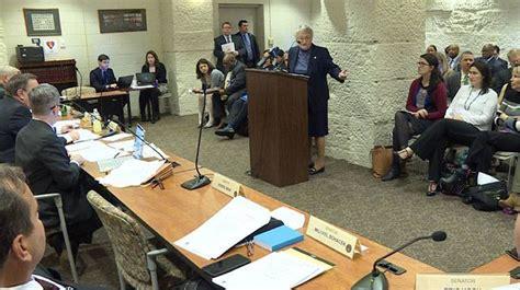 senate committee votes for bill senate committee votes in favor of crimes legislation