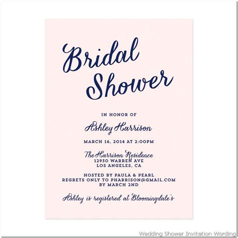 bridal shower invitation cards templates gift card bridal shower invitation wording gift card