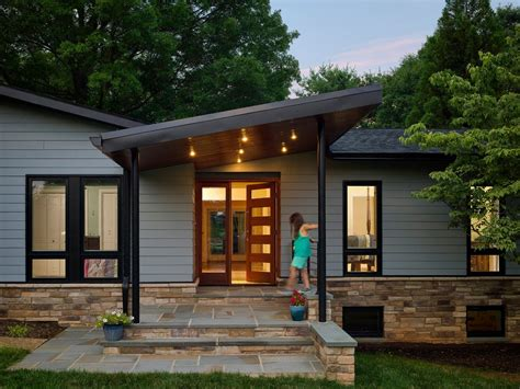exterior front entry design ideas entry midcentury with