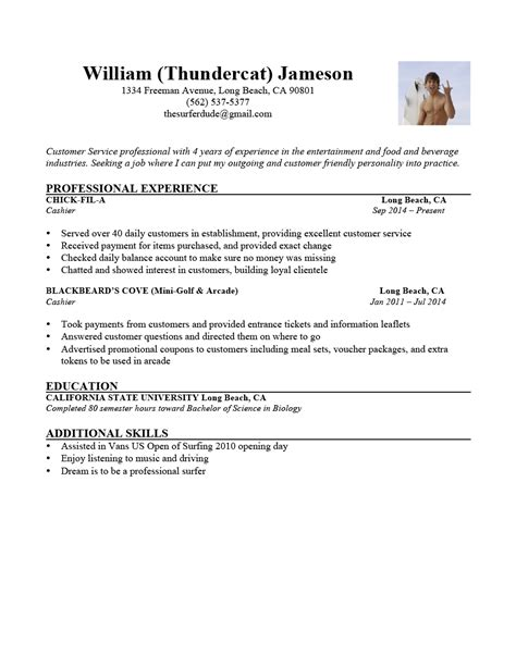 Resume Writing Skills List Exles Of A Resume Best Resumes