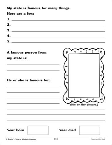 state report template 8 best images of printable state report outline state