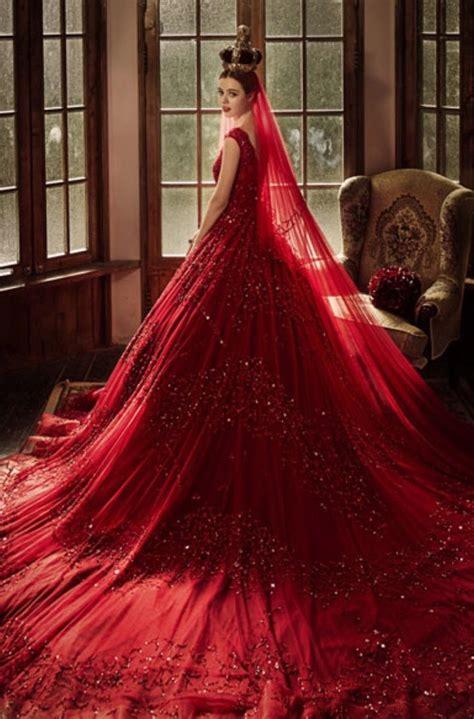 best 25 red wedding gowns ideas on pinterest