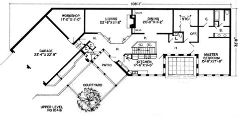 berm home floor plans gallery earth sheltered home plans with basement