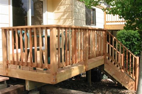 decking banister rustic deck railing ideas www imgkid com the image kid