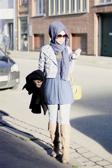 Simple Casual Hijab Style