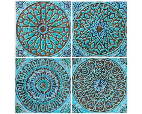 wall art ideas ceramic tiles hanging large decor pottery 4 moroccan wall hangings ceramic tiles wall decor