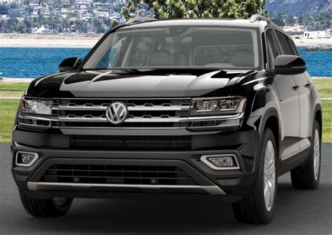 black volkswagen atlas 2018 volkswagen atlas exterior color options