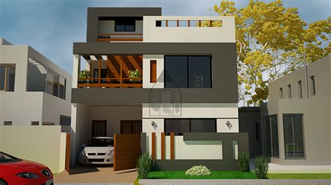 3d home design 5 marla home front design double floor 5 marla home deco plans