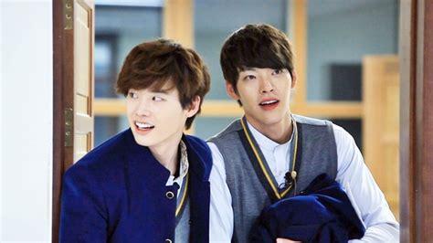 film korea lee jong suk dan kim woo bin sering pamer bromance 7 selebriti korea ini ternyata