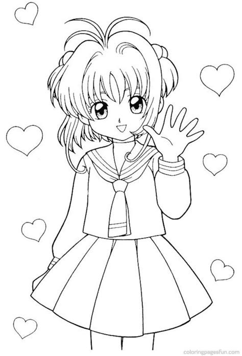 Cardcaptor Coloring Pages by 137 Best Images About Color Card Captor