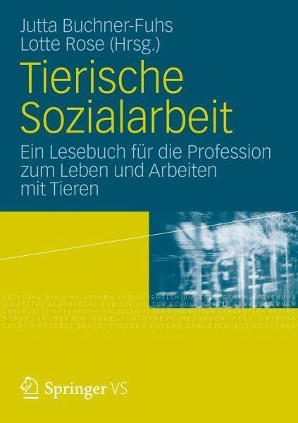 Tierische Sozialarbeit Fachbuch Buecher De