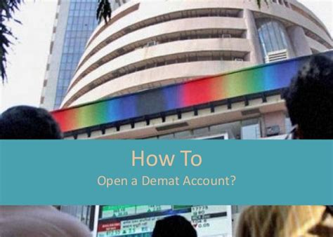 How To Open D Mat Account by How To Open Demat Account